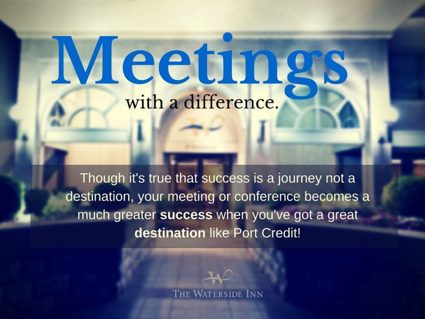 Meetings with a Difference